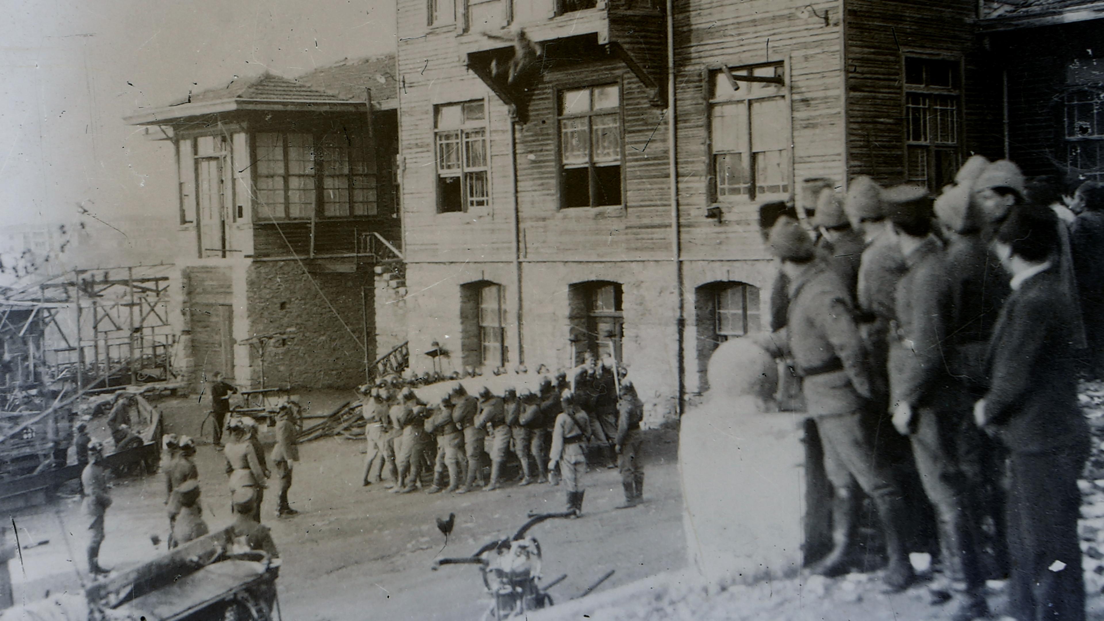 Tarihçe - İstanbul İtfaiyesi