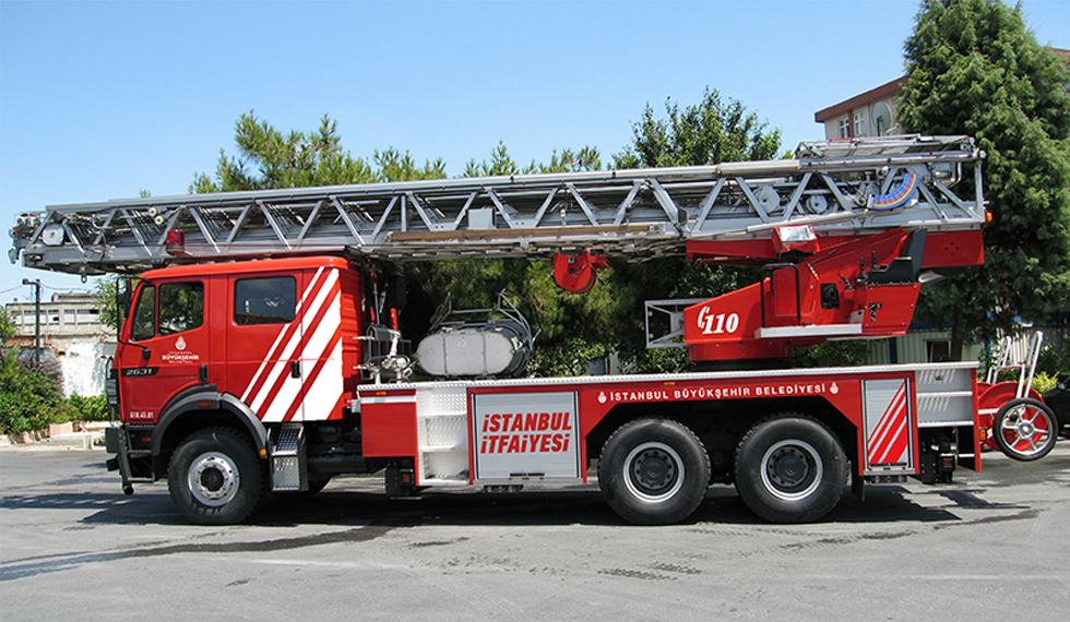 Our Vehicles - Istanbul Fire Department