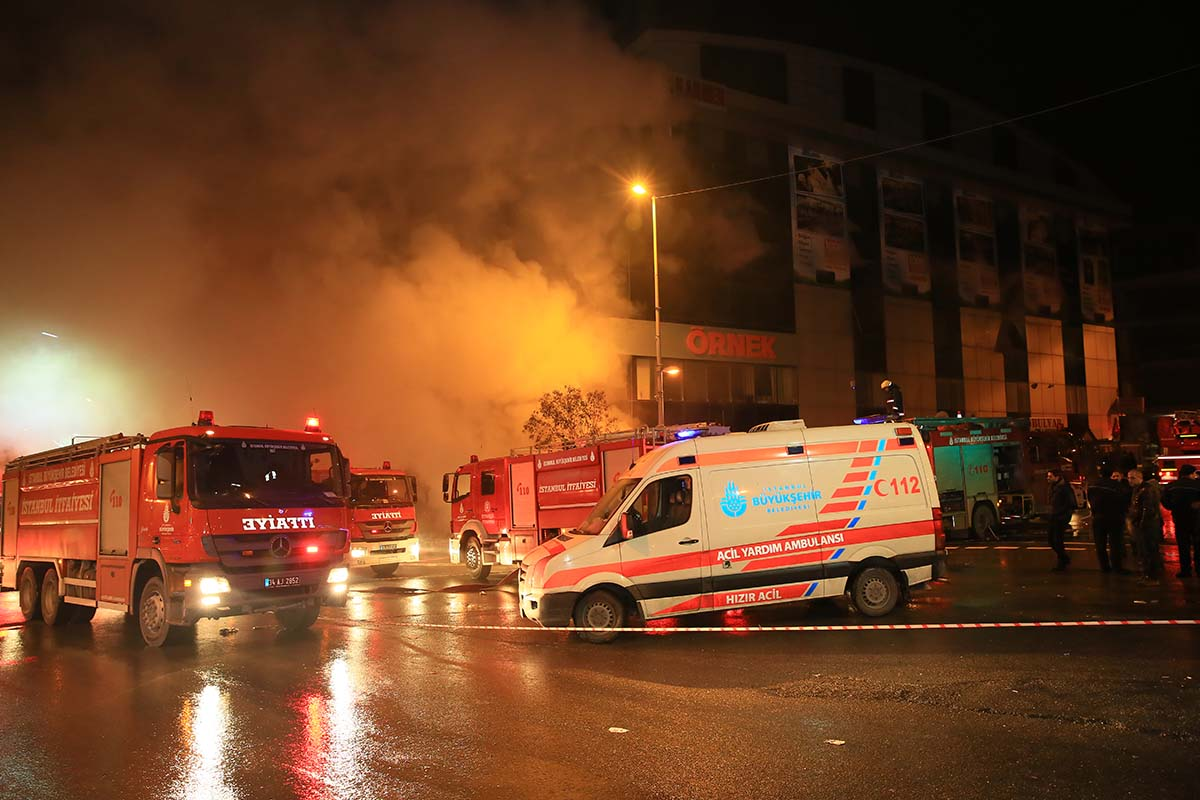 Medical Emergency Service - Istanbul Fire Department