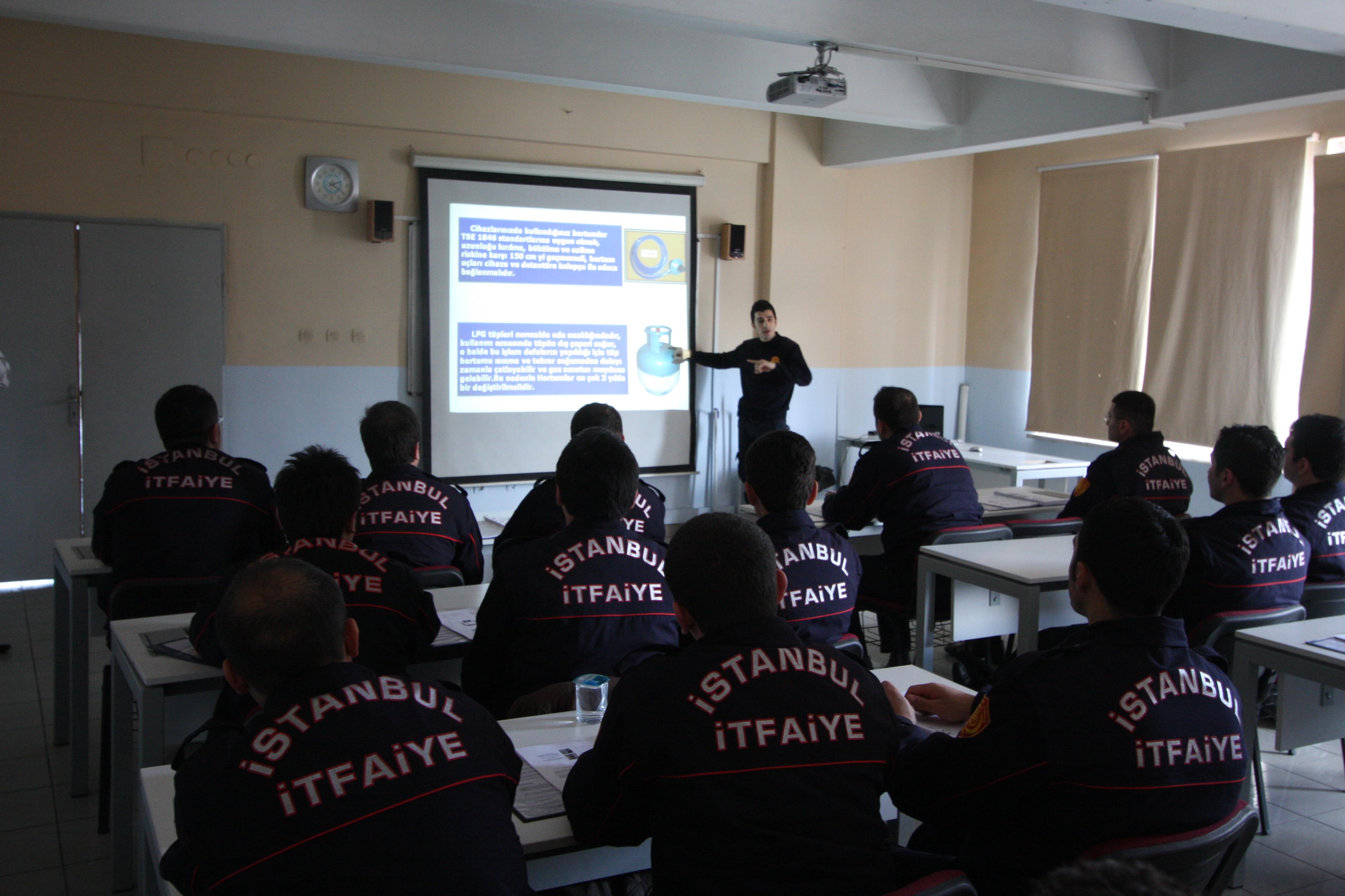Eğitim - İstanbul İtfaiyesi