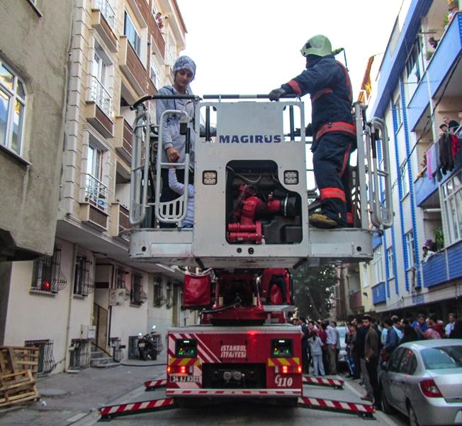 Esenyurtta ikametgah yangını - Haberler - İstanbul İtfaiyesi