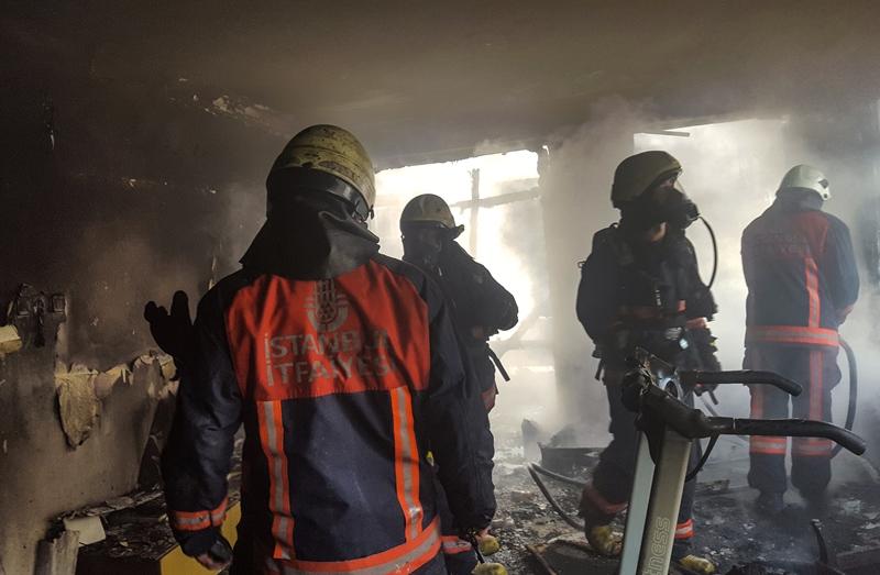 Kadıköyde ikametgah yangını - Haberler - İstanbul İtfaiyesi