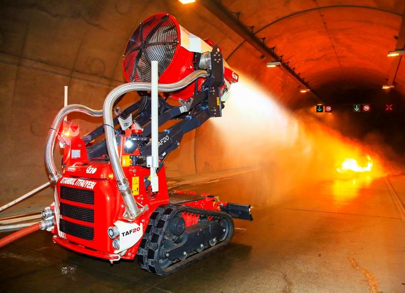 Sarıyer Tünelinde yangın tatbikatı gerçekleştirdik - Haberler - İstanbul İtfaiyesi