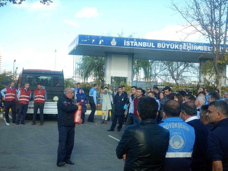Kamu kurumlarına yangın güvenliği eğitimlerimiz devam ediyor - Haberler - İstanbul İtfaiyesi