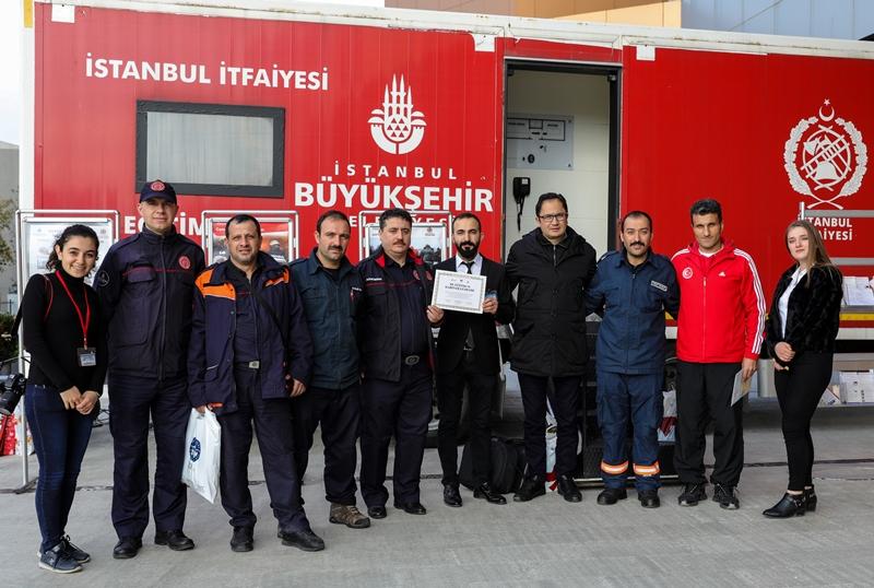 Yangına karşı bilinçlendirme eğitimlerimiz devam ediyor - Haberler - İstanbul İtfaiyesi