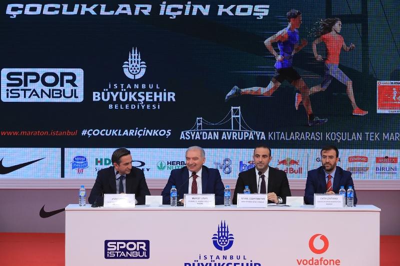 Vodafone 39.İstanbul Maratonu çocuklar için koşulacak - Haberler - İstanbul İtfaiyesi