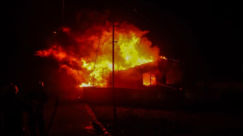Çekmeköyde gecekondu yangını - Haberler - İstanbul İtfaiyesi