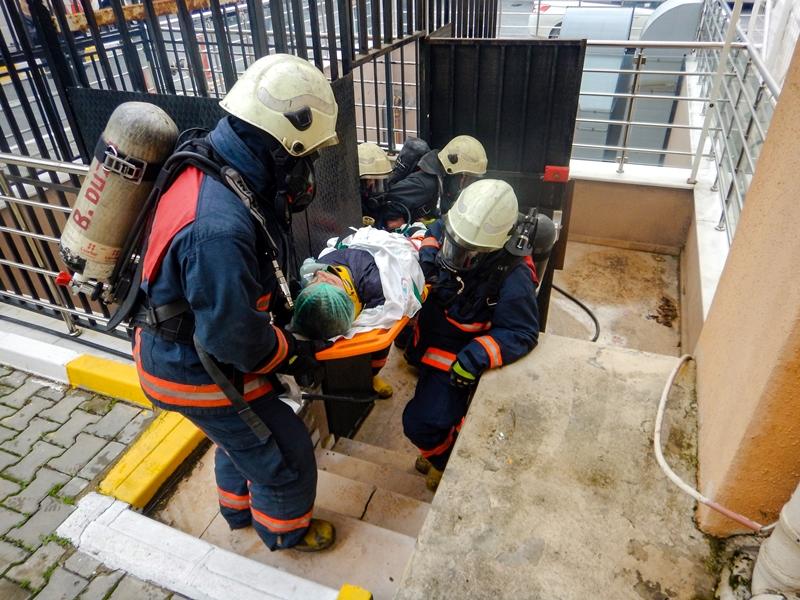 Avcılar Murat Kölük Devlet Hastanesinde yangın tatbikatı gerçekleştirdik - Haberler - İstanbul İtfaiyesi