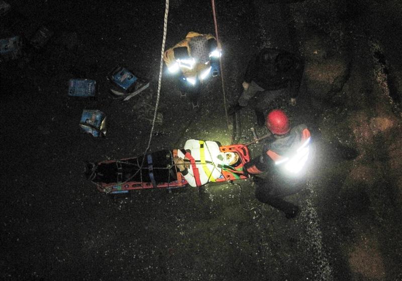 Kartalda insan kurtarma - Haberler - İstanbul İtfaiyesi