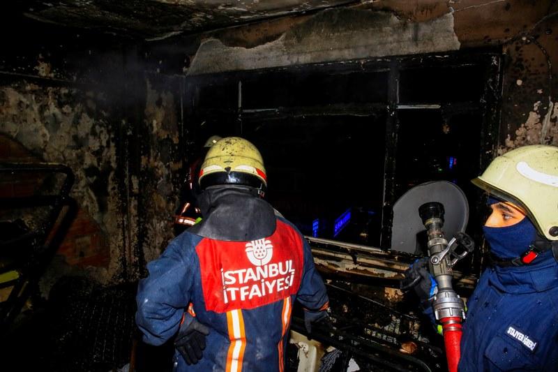 Nişancada daire yangını - Haberler - İstanbul İtfaiyesi