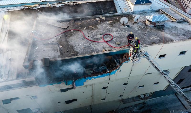 Bağcılarda iş yeri yangını - Haberler - İstanbul İtfaiyesi