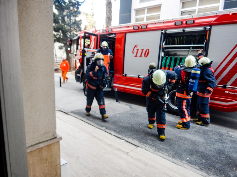 Fire Drill At Bayrampa A State Hospital News Istanbul