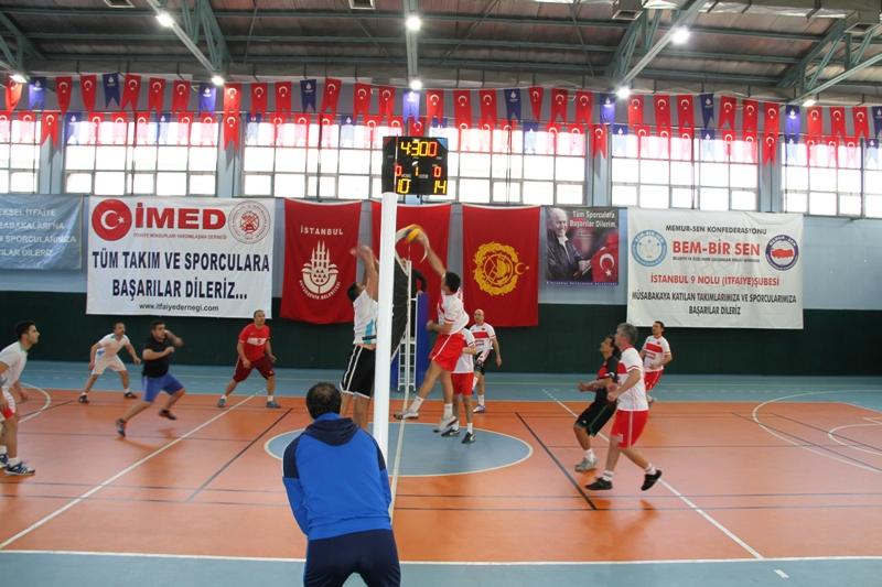 Avrupa Yakası İtfaiye Müdürlüğü Voleybol Turnuvası Başladı  - Haberler - İstanbul İtfaiyesi