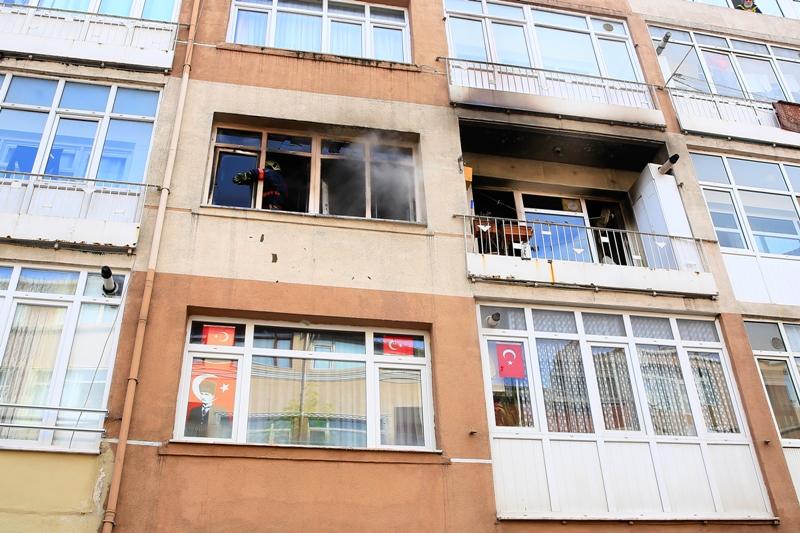 Kocamustafapaşada ikametgah yangını - Haberler - İstanbul İtfaiyesi