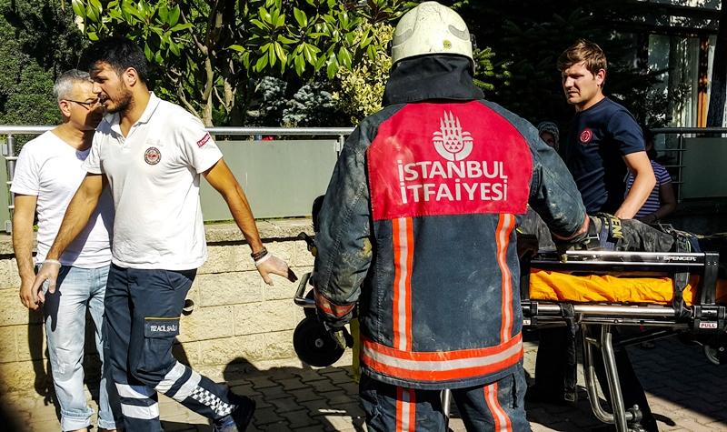 Başakşehirde toprak kayması - Haberler - İstanbul İtfaiyesi