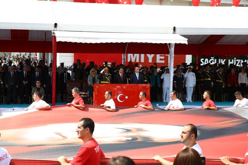 30 Ağustos Zafer Bayramı görkemli törenlerle kutlandı - Haberler - İstanbul İtfaiyesi