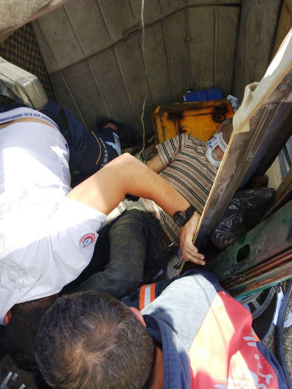 TEM Otoyolunda trafik kazası - Haberler - İstanbul İtfaiyesi