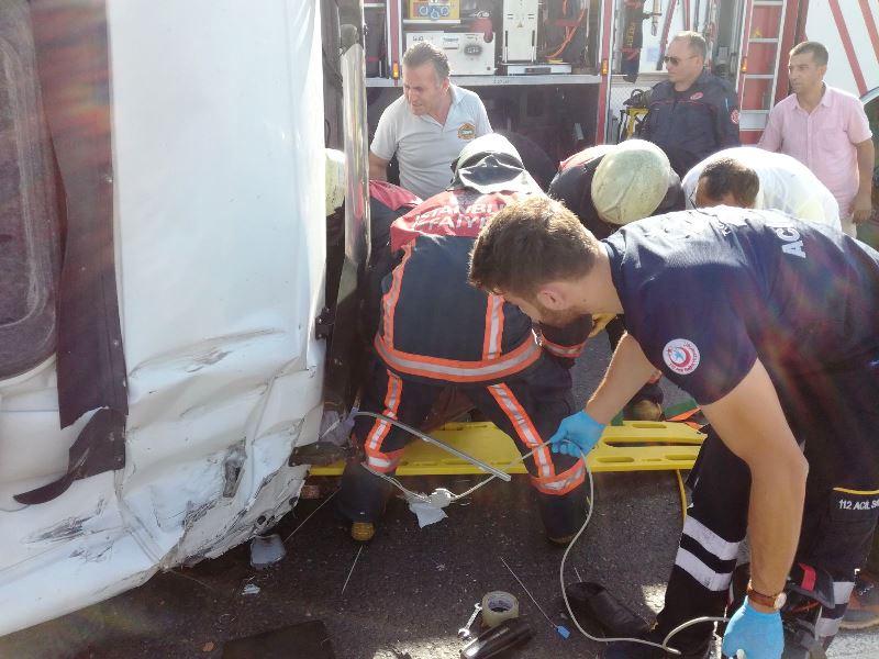 3.Köprü Yolunda trafik kazası - Haberler - İstanbul İtfaiyesi