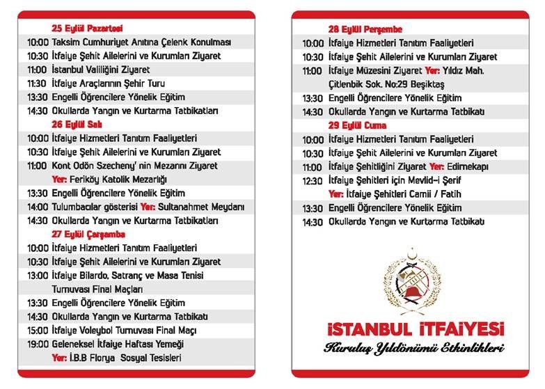 İstanbul İtfaiyesi 303 Yaşında - Haberler - İstanbul İtfaiyesi