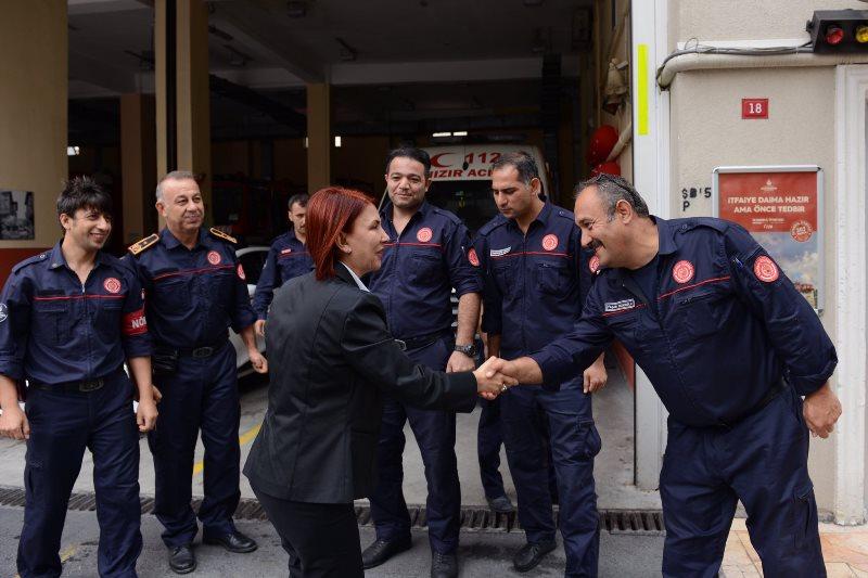 Avcılar Belediye Başkanından İtfaiye Haftası Ziyareti - Haberler - İstanbul İtfaiyesi
