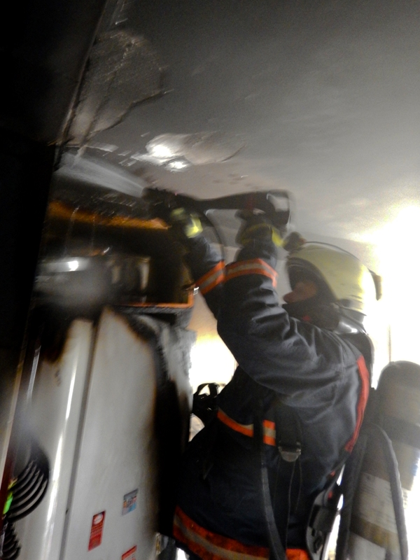 Beylikdüzünde ikametgah yangını - Haberler - İstanbul İtfaiyesi