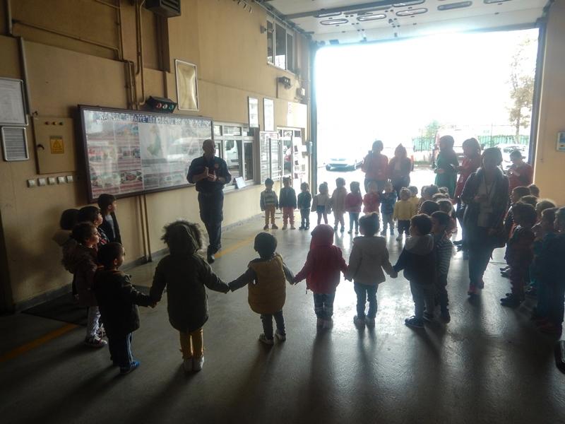 Kardeşlerimiz, istasyonlarımızda bizleri ziyarete geldi - Haberler - İstanbul İtfaiyesi