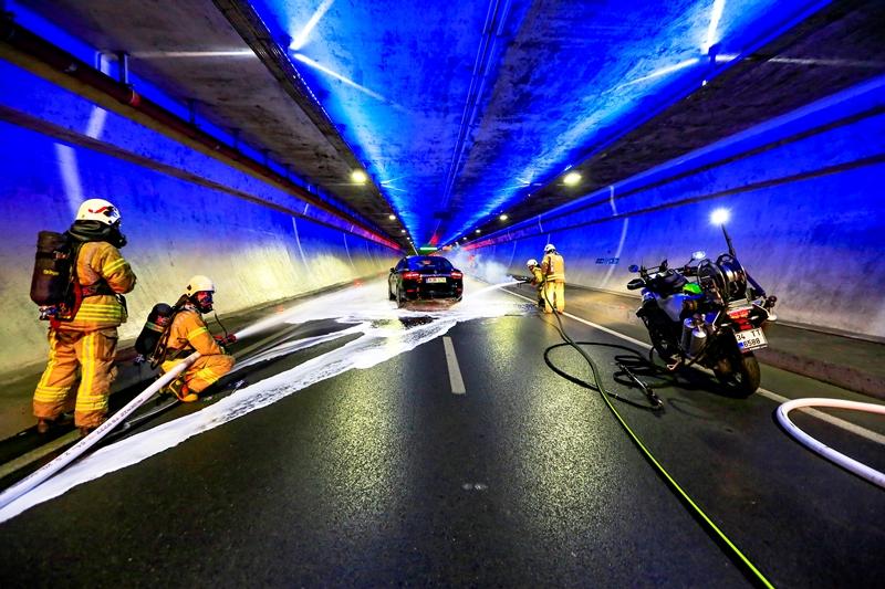 Avrasya tünelinde tatbikat gerçekleştirdik - Haberler - İstanbul İtfaiyesi