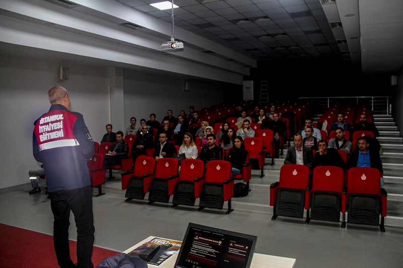 Yangın ve Güvenlik Eğitimlerimiz devam ediyor - Haberler - İstanbul İtfaiyesi