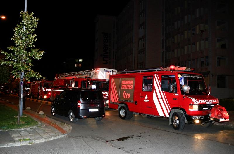 Fatihte ikametgah yangını - Haberler - İstanbul İtfaiyesi