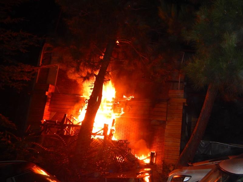 Maslak Oto Sanayi Sitesinde yangın - Haberler - İstanbul İtfaiyesi