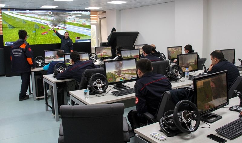 Hizmet içi eğitimlerimiz Taktik Masa eğitimleri ile devam ediyor - Haberler - İstanbul İtfaiyesi