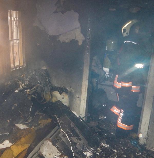 İstinyede gecekondu yangını - Haberler - İstanbul İtfaiyesi