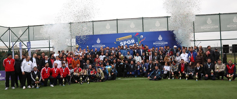 İBB Başkanlık Kupasının şampiyonları belli oldu - Haberler - İstanbul İtfaiyesi