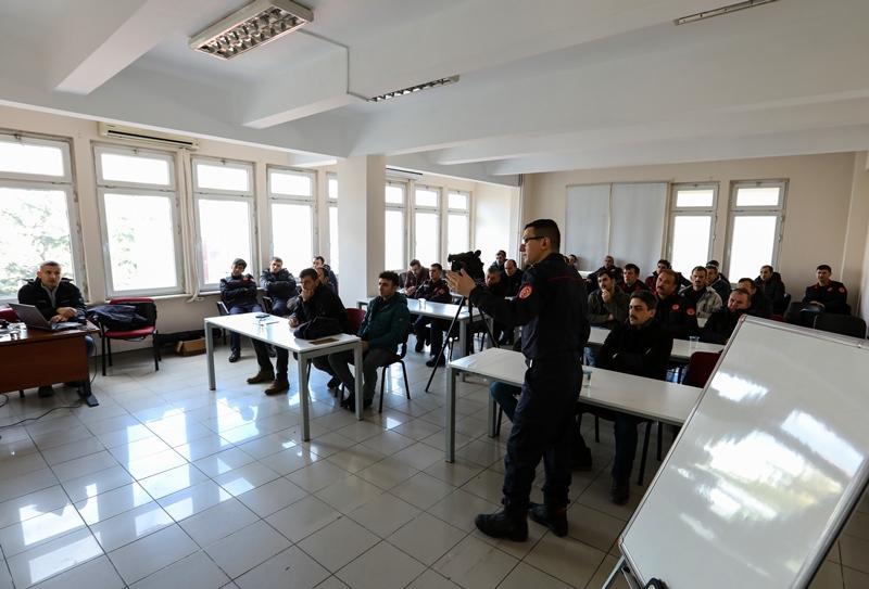 İtfai faaliyetlerin görsellendirilmesi eğitimimiz tamamlandı - Haberler - İstanbul İtfaiyesi