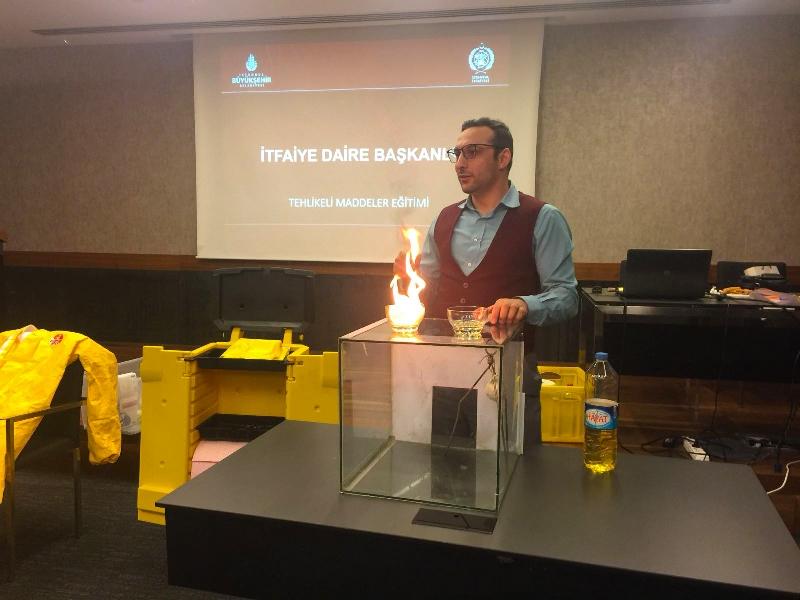 Yangın güvenliği eğitimlerimiz devam ediyor - Haberler - İstanbul İtfaiyesi