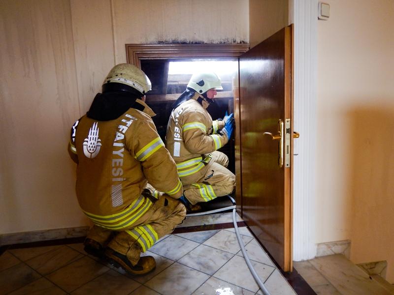 Pendikte baca yangını - Haberler - İstanbul İtfaiyesi