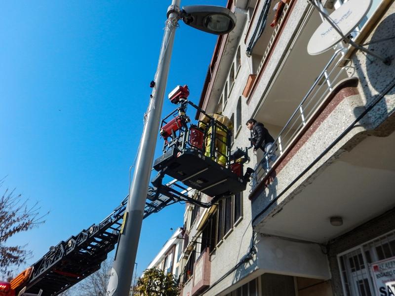 Avcılarda yangın - Haberler - İstanbul İtfaiyesi