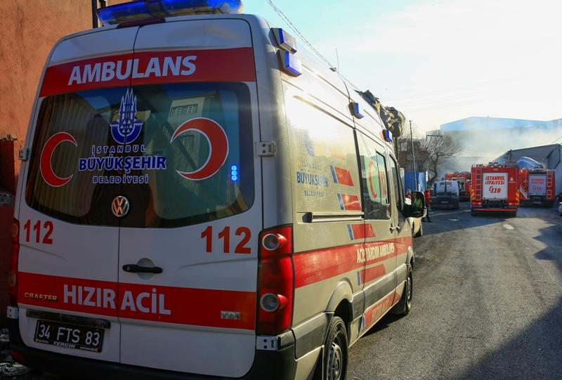 Esenyurtta iş yeri yangını - Haberler - İstanbul İtfaiyesi