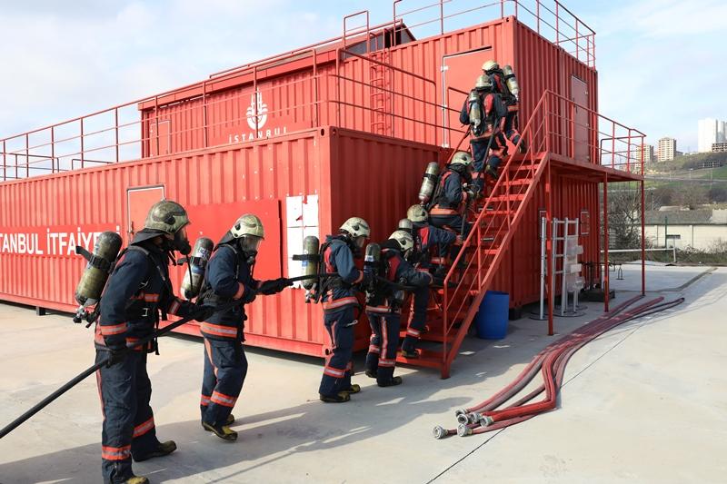 Amasya, Düzce ve Denizli itfaiye personeline Temel İtfaiye Er Eğitimi verdik - Haberler - İstanbul İtfaiyesi