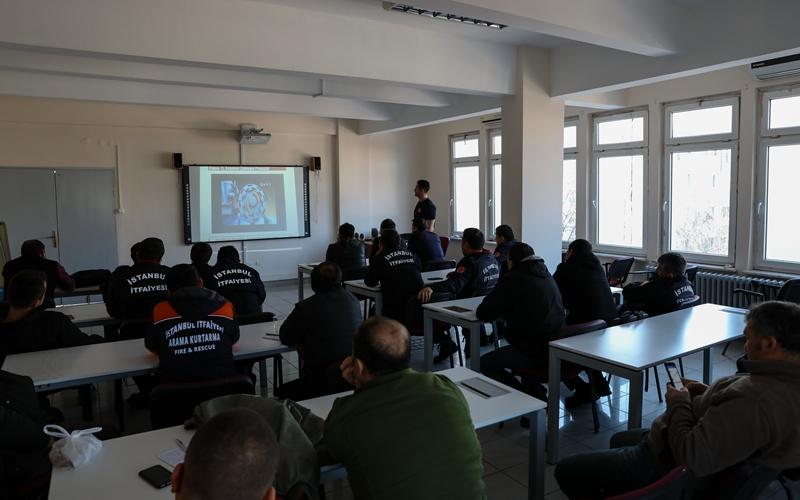 Asansörden Kurtarma Eğitimimiz sona erdi - Haberler - İstanbul İtfaiyesi