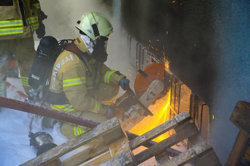 Bahçelievlerde iş yeri yangını - Haberler - İstanbul İtfaiyesi
