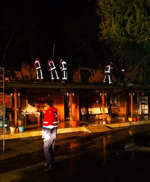 Şilede iş yeri yangını - Haberler - İstanbul İtfaiyesi