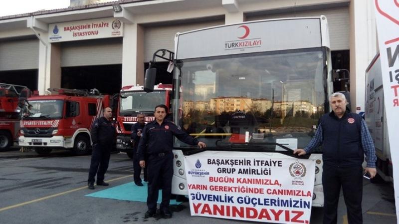 İstanbul İtfaiyesinden Kan Bağışı Kampanyası - Haberler - İstanbul İtfaiyesi