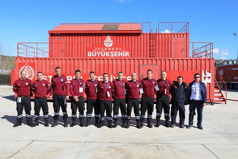 Kuzey Kıbrıs Türk Cumhuriyeti İtfaiyesinde görevli meslektaşlarımız teşkilatımızı ziyaret etti - Haberler - İstanbul İtfaiyesi