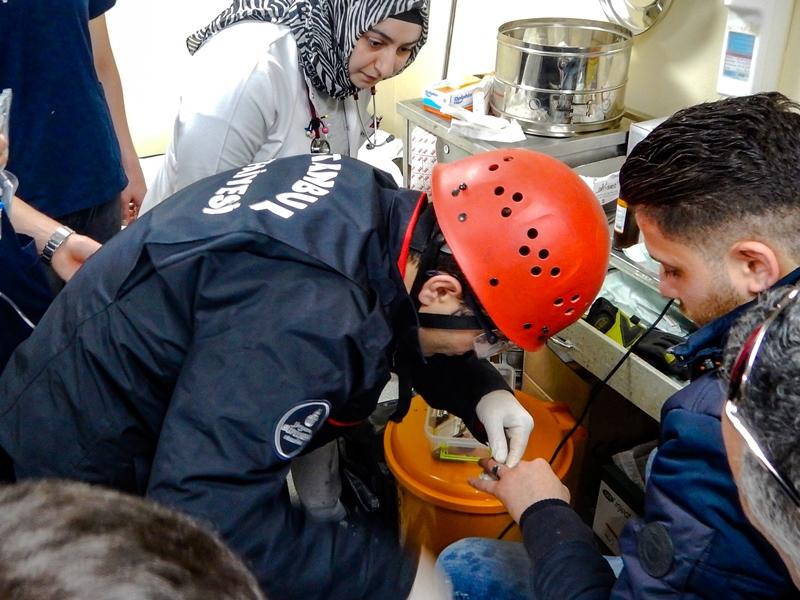 Parmağına yüzük sıkışan vatandaşımızın yardımına yetiştik - Haberler - İstanbul İtfaiyesi