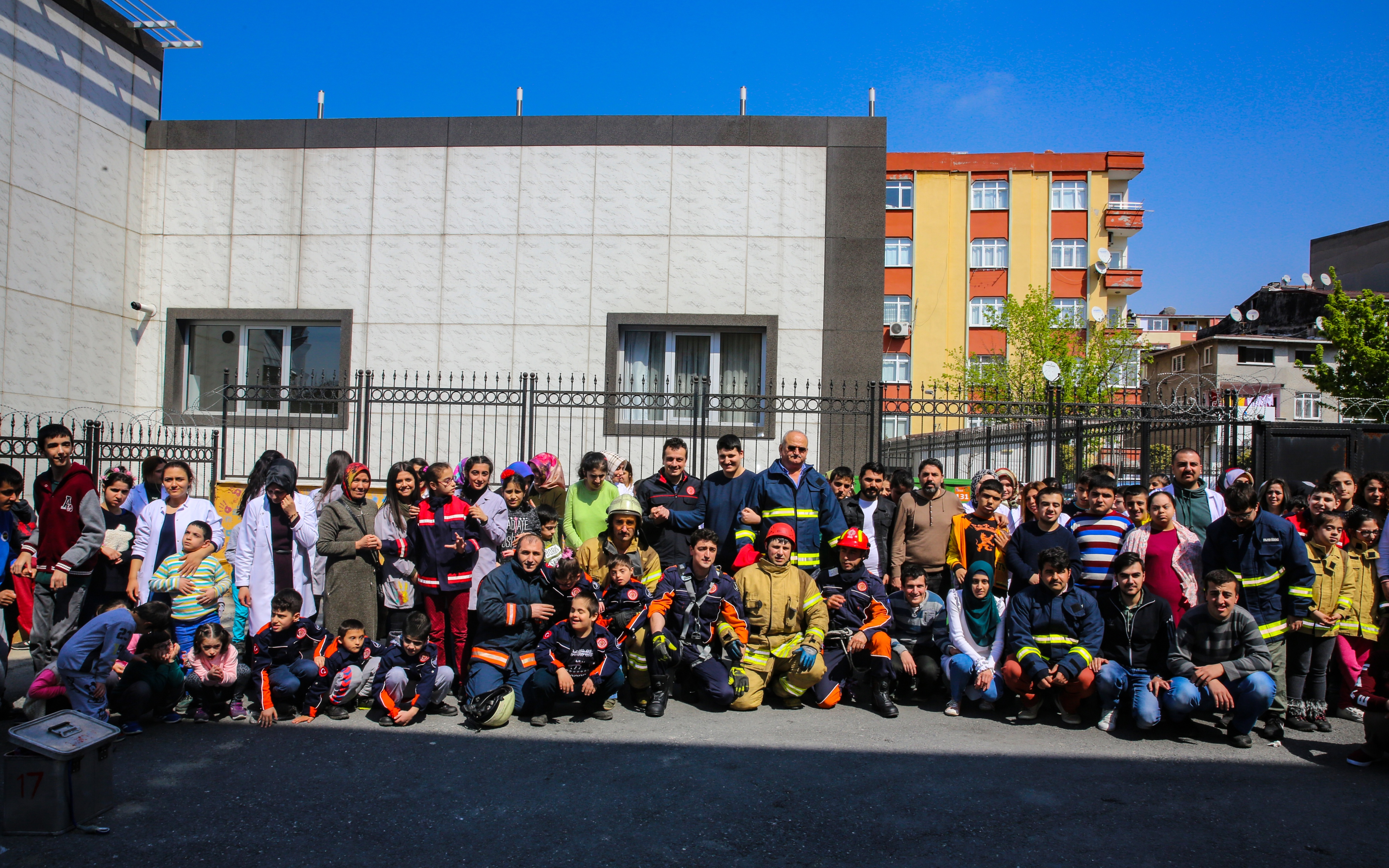 Engelli vatandaşlarımızı yangına karşı bilinçlendiriyoruz - Haberler - İstanbul İtfaiyesi