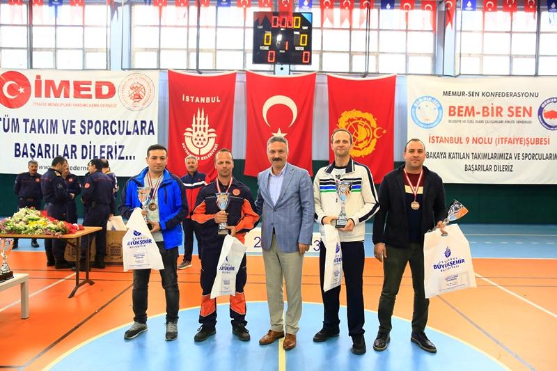 Avrupa Yakası İtfaiye Müdürlüğü 2018 Yılı Spor Turnuvalarında kupalar sahiplerini buldu - Haberler - İstanbul İtfaiyesi