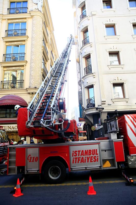 Sirkecide baca yangını - Haberler - İstanbul İtfaiyesi