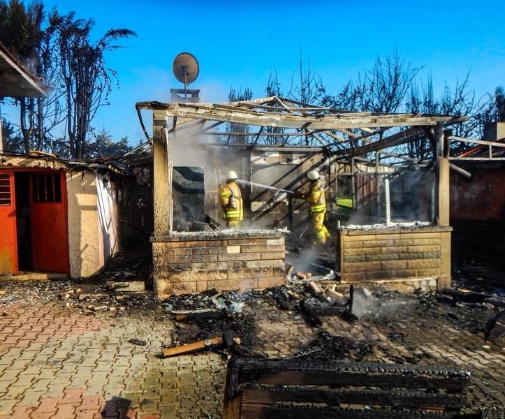 Çatalcada ikametgah yangını - Haberler - İstanbul İtfaiyesi