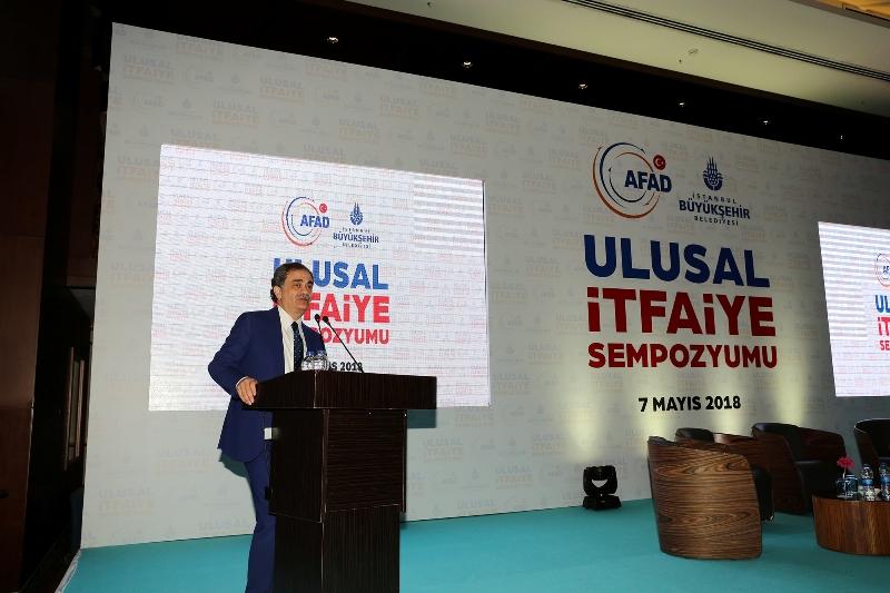 Ulusal İtfaiye Sempozyumu Gerçekleştirildi - Haberler - İstanbul İtfaiyesi